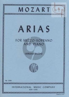7 Arias for Mezzo-Soprano