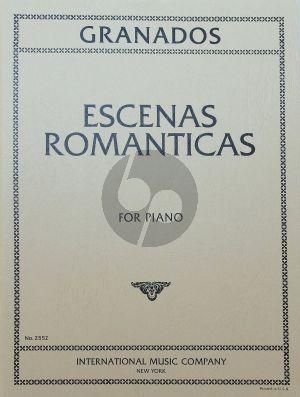 Granados Escenas Romanticas Piano solo