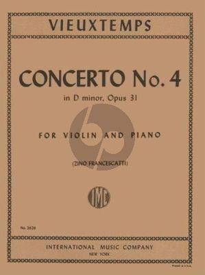 Vieuxtemps Concerto No.4 d-minor Op.31 Violin-Piano (Zino Francescatti)