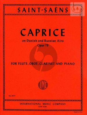 Caprice on Danish and Russian Airs Op.79 (Flute-Oboe-Clarinet