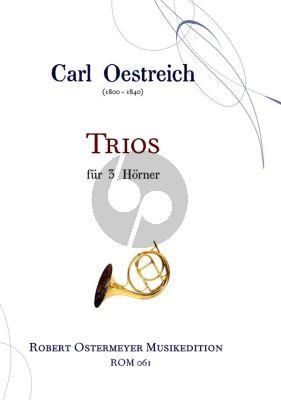 Oestreich  Trios 3 Horns (Score/Parts)