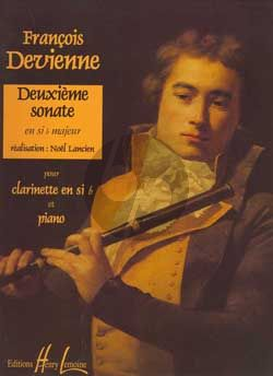 Devienne Sonate No.2 B-flat major Clarinet-Piano (Lancien)