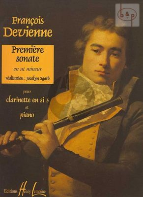 Sonate No.1 c-minor (incl.CD with all 3 Sonatas by Devienne)