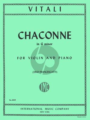 Vitali Chaconne g-minor (Francescatti)