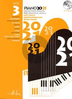 Piano 20-21 Vol.3 (Bk-Cd) (Ibanez) (Grade 5)