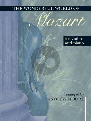 Wonderful World of Mozart Violin-Piano (Graham Moore)