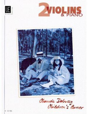 Debussy Children's Corner 2 Violinen und Klavier (arr. Joseph Diermaier)