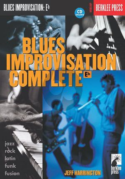 Harrington Blues Improvisation Complete for an Eb Instrument (Bk-Cd)