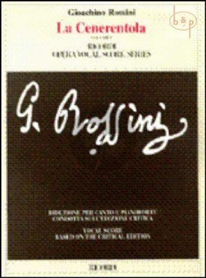 La Cenerentola (Vocal Score in 2 Volumes)