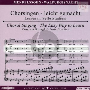 Die Erste Walpurgisnacht (Ballade) Op.60 (Alt Chorstimme)