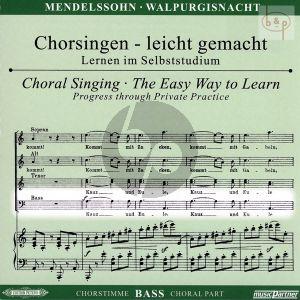 Die Erste Walpurgisnacht (Ballade) Op.60 (Bass Chorstimme)