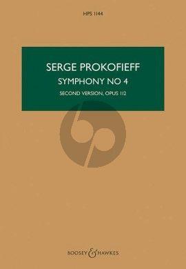 Prokofieff Symphony No.4 Op.112 (1947) (Second Version) (Study Score)