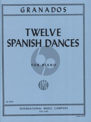 Granados 12 Spanish Dances Op. 5 Piano