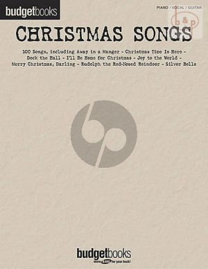 Budgetbooks: Christmas Songs