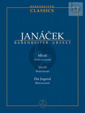 Mladi (Youth) (Fl.[Pic.]-Ob.-Clar.[Bb]-Horn-Bsn- Bass Clar.) (Study Score)