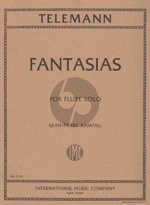Telemann 12 Fantasies TWV 40:2 - 13 Flute solo (Jean-Pierre Rampal)