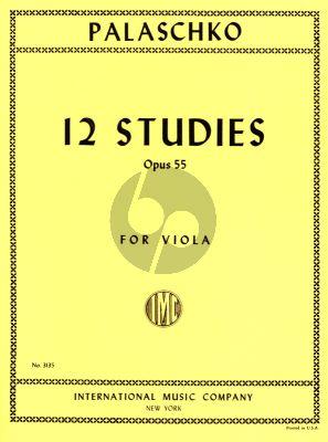 Palaschko 12 Studies Op.55
