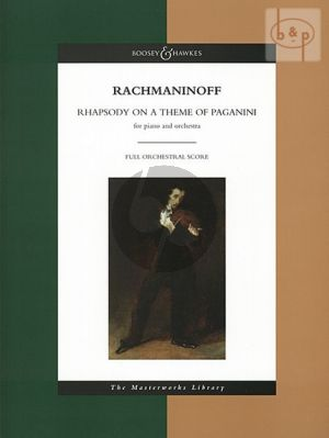 Rhapsody on a theme by Paganini Piano and Orchestra