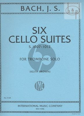 6 Suites (BWV 1007 - 1012) (orig.Cello)
