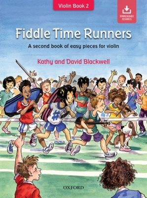 Blackwell Fiddle Time Runners (A Second Book of Easy Pieces for the Violin) Bk-Online Download (Revised edition)