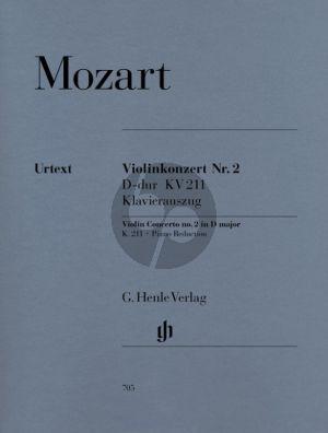 Mozart Konzert No.2 KV 211 D-dur (Henle-Urtext) (Seiffert/Petrenz/Guntner)