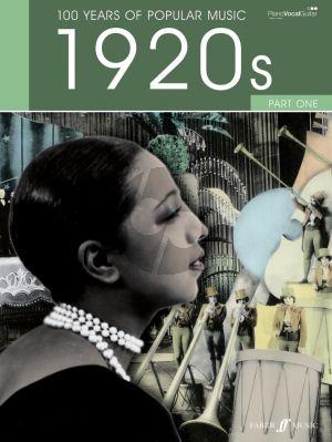100 Years of Popular Music: The Twenties Vol.1 (Piano/Vocal/Guitar)