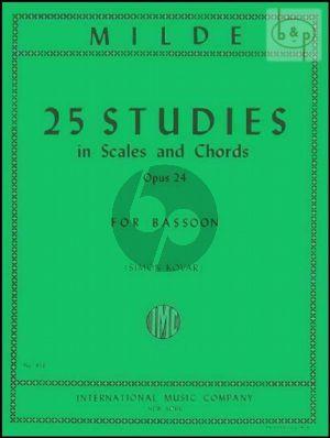 25 Studies Scales & Chords Op.24 Bassoon