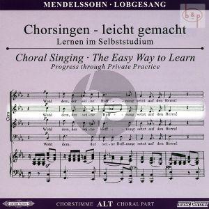 Lobgesang Op.52 Alt Chorstimme CD