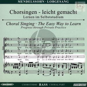 Lobgesang Op.52 Bass Chorstimme CD
