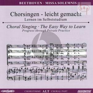 An die Freude (Schlusschor Symphonie No.9) mit Chorfantasie c-moll Op.80 (Alt Chorstimme)