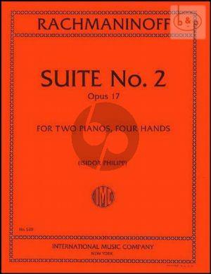 Suite No.2 Op.17 (2 Pianos)