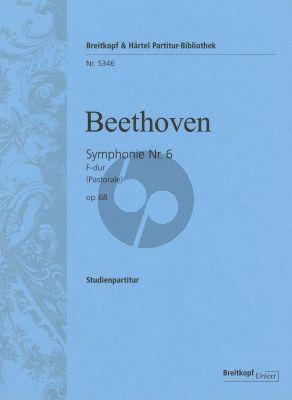 Bethoven Symphonie No.6 Op.68 F-dur (Pastorale) Study Score (Hauschild)