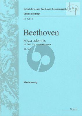 Missa Solemnis Opus 123 (Soli-Choir-Orch.) (Vocal Score)
