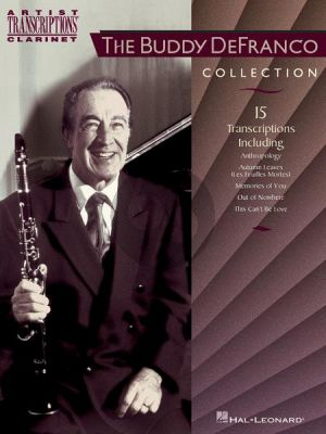 DeFranco The Buddy DeFranco Collection for Clarinet (Artists Transcriptions Clarinet)