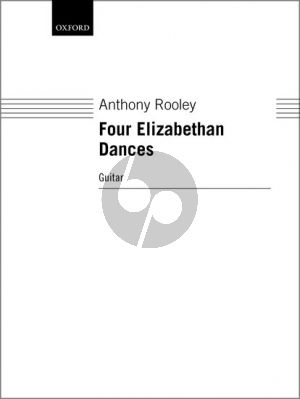 Rooley 4 Elizabethan Dances for Guitar