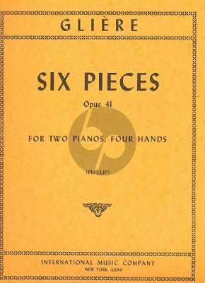 6 Pieces Op.41
