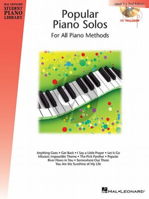 Popular Piano Solos Level 5 (Hal Leonard Student Piano Library)