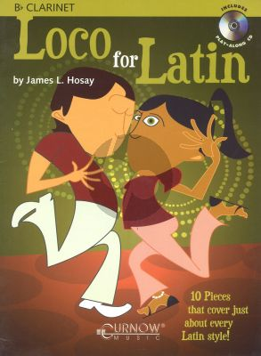 Hosay Loco for Latin for Clarinet (Bk-Cd) (interm.-adv.)