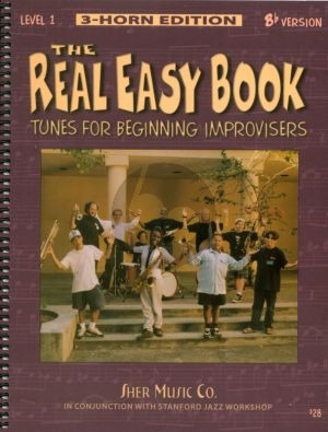 Album Real Easy Book Tunes for Beginning Improvisers Level 1 Bb Book