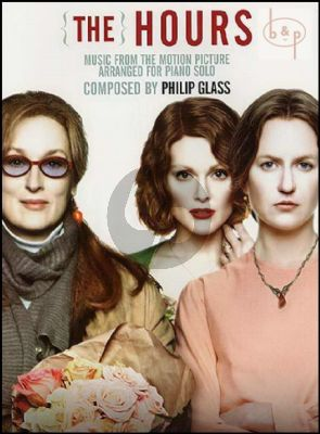 Glass The Hours (music from the motion picture) Piano Solo