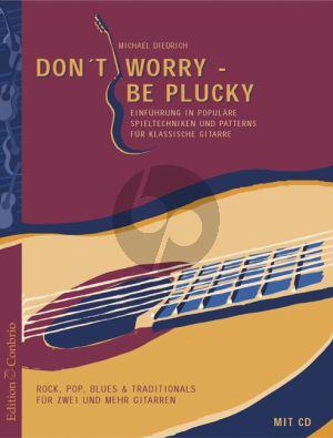 Diedrich Don't Worry be Plucky Gitarre Buch-CD