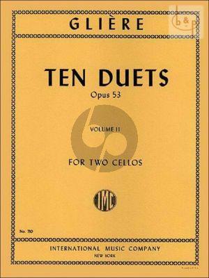 10 Duets Op.53 Vol.2 2 Violoncellos