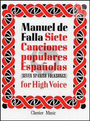 7 Canciones Populares Espagnoles