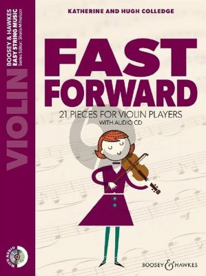 Fast Forward for Violin (21 Pieces with Playalong CD)