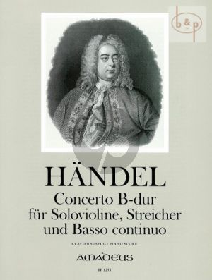 Concerto B-dur (Sonata a 5) (HWV 288)