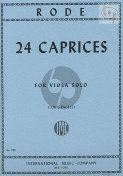 24 Caprices
