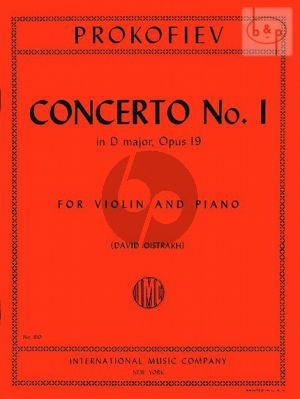 Concerto No.1 D-major Op.19