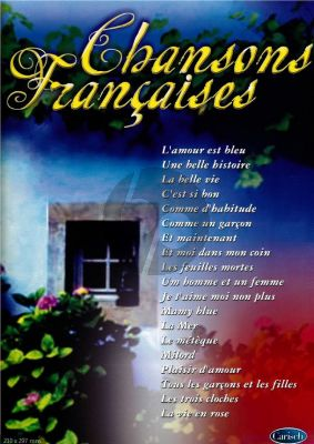 Chansons Francaises (Piano-Vocal-Guitar)