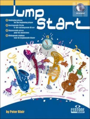 Jump Start (Alto Sax) (12 Challenging Pieces)