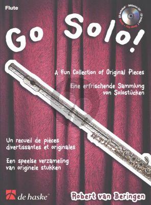 Beringen Go Solo! for Flute (Bk-Cd) (A Fun Collection of Original Pieces)
